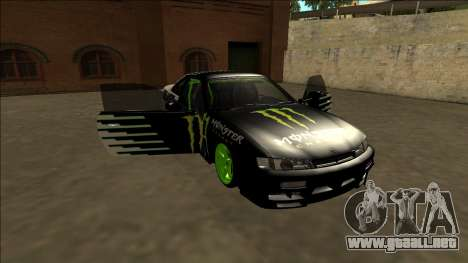 Nissan 200SX Drift Monster Energy Falken para GTA San Andreas
