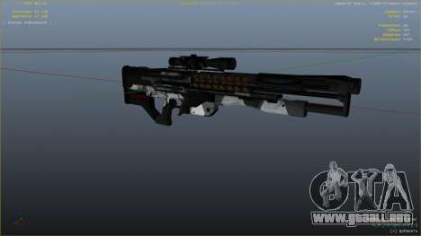 GTA 5 M2014 Gauss Rifle из Crysis 2 cuarto captura de pantalla