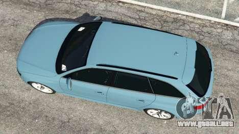 GTA 5 Audi A4 Avant 2013 vista trasera
