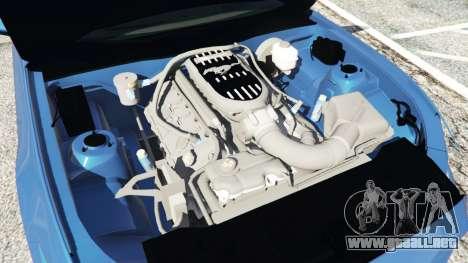 GTA 5 Ford Mustang GT 2015 delantero derecho vista lateral