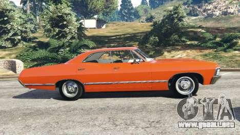 GTA 5 Chevrolet Impala 1967 vista lateral izquierda