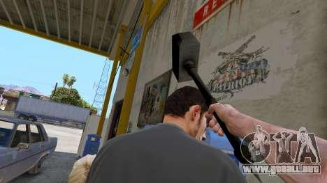 GTA 5 Martillo de Shao Kahn de Mortal Kombat cuarto captura de pantalla
