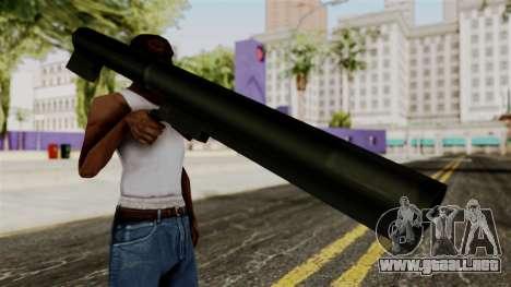Light-AntiTank-Weapon from Delta Force para GTA San Andreas tercera pantalla