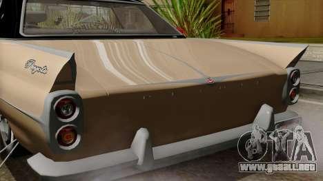 Vapid Peyote Bel-Air para visión interna GTA San Andreas