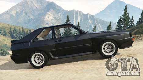 Audi Sport quattro v1.2 para GTA 5