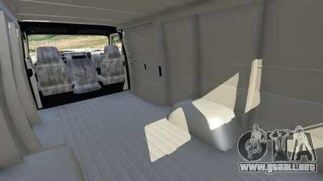 GTA 5 Chevrolet G20 Van vista lateral derecha