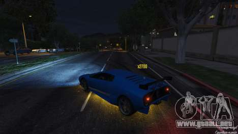 GTA 5 Drift HUD tercera captura de pantalla