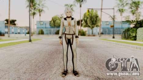 DOA 5 Christie Assasin para GTA San Andreas segunda pantalla