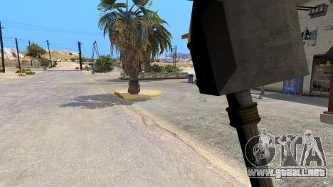 Martillo de Shao Kahn de Mortal Kombat para GTA 5