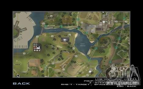HD tarjeta para Diamondrp para GTA San Andreas segunda pantalla