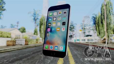 iPhone 6S Space Grey para GTA San Andreas segunda pantalla
