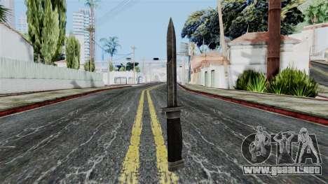 Allied Knife from Battlefield 1942 para GTA San Andreas segunda pantalla