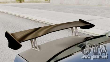 Mitsubishi Lancer Evolution v2 para GTA San Andreas vista hacia atrás