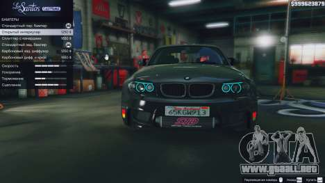 GTA 5 BMW 1M v1.0 vista lateral derecha