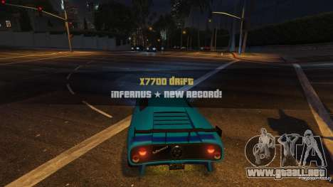 GTA 5 Drift HUD