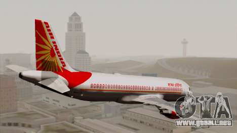 Airbus A320-200 Air India para GTA San Andreas left