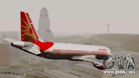 Airbus A320-200 Air India para GTA San Andreas left