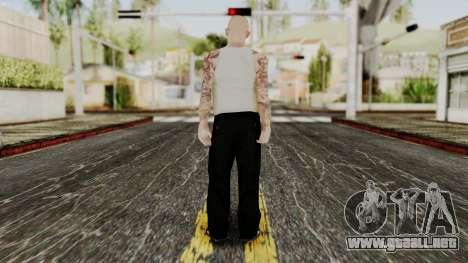 Alice Baker Young Member para GTA San Andreas tercera pantalla