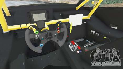GTA 5 Mercedes-Benz C204 AMG DTM 2013 delantero derecho vista lateral