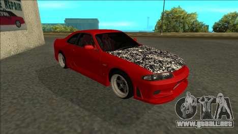 Nissan Skyline R33 Fairlady para GTA San Andreas left