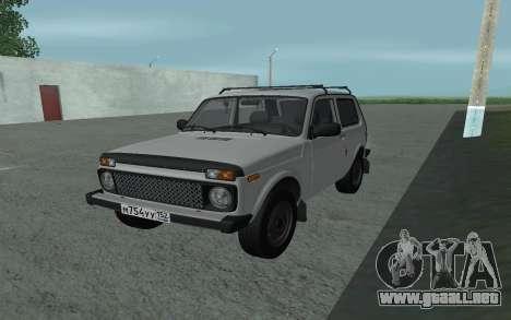 VAZ Niva 21213 para GTA San Andreas