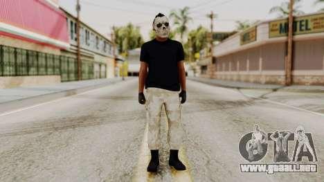 Skin DLC Ultimo Equipo En Pie para GTA San Andreas segunda pantalla