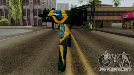 Brasileiro Micro Uzi v2 para GTA San Andreas segunda pantalla