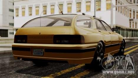 GTA 5 Zirconium Stratum IVF para GTA San Andreas left
