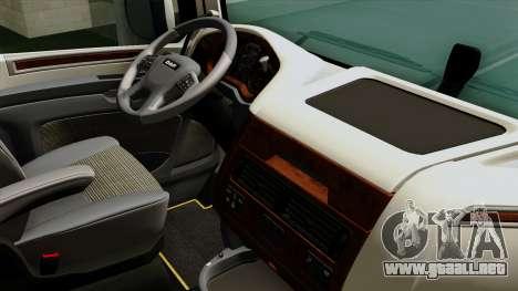 DAF XF Euro 6 SSC para la visión correcta GTA San Andreas