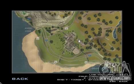 HD tarjeta para Diamondrp para GTA San Andreas tercera pantalla