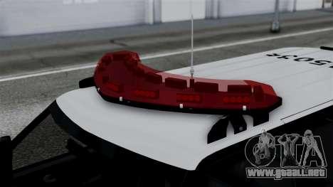 Chevrolet Blazer 2010 para la visión correcta GTA San Andreas