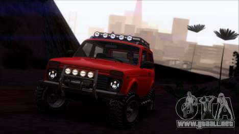 VAZ 2121 Niva Offroad para GTA San Andreas interior