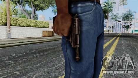 Walther P38 from Battlefield 1942 para GTA San Andreas tercera pantalla