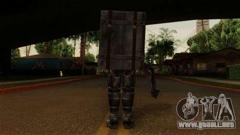 Chris Heavy Metal para GTA San Andreas tercera pantalla