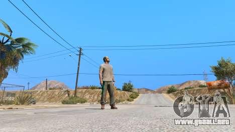 GTA 5 Saints Row 3 Cyber SMG Emissive v1.01 séptima captura de pantalla