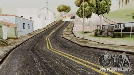 BlackRoads v1 LS Kenblock para GTA San Andreas sucesivamente de pantalla
