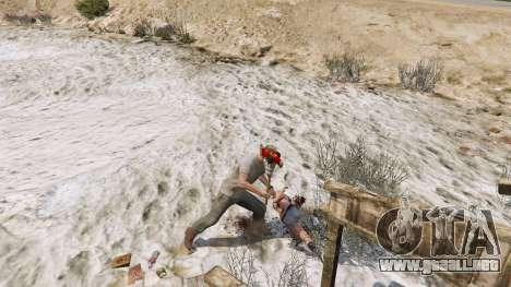 GTA 5 Hacha de Dead Rising tercera captura de pantalla