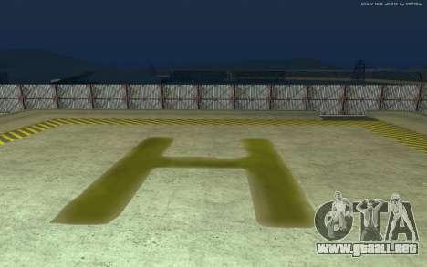 Nueva Base Militar v1.0 para GTA San Andreas