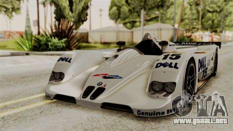 BMW V12 LMR 1999 Stock para GTA San Andreas