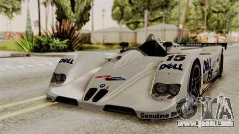 BMW V12 LMR 1999 Stock para GTA San Andreas