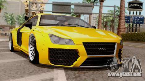 Obey 9F Liberty Works v1.0 para GTA San Andreas