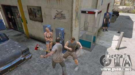 GTA 5 Hacha de Dead Rising segunda captura de pantalla