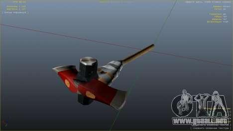 GTA 5 Hacha de Dead Rising quinta captura de pantalla