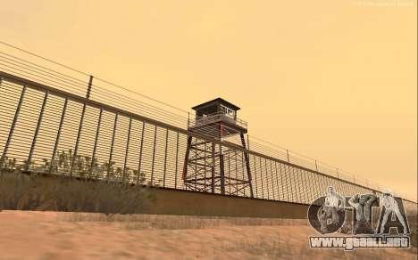 Nueva Base Militar v1.0 para GTA San Andreas tercera pantalla