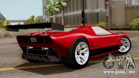 Vapid Bullet GT-GT3 para GTA San Andreas left
