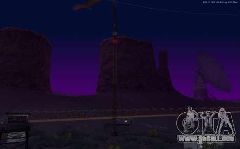 Nueva Base Militar v1.0 para GTA San Andreas novena de pantalla