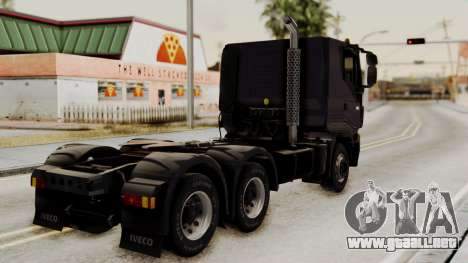 Volvo Truck from ETS 2 para GTA San Andreas left