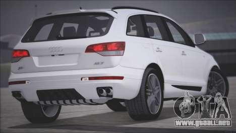 Audi Q7 2008 para la visión correcta GTA San Andreas
