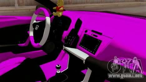 Honda CRZ Hybrid para la visión correcta GTA San Andreas