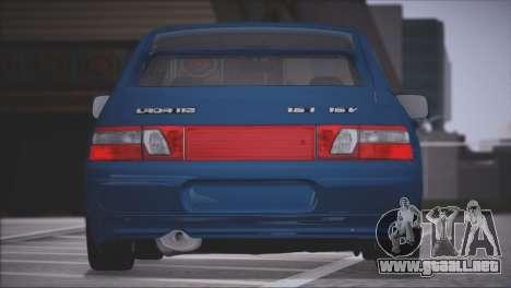VAZ 2112 artículos de Calidad para la visión correcta GTA San Andreas